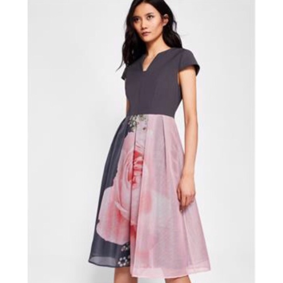 063e8487abb5 Ted Baker Dresses | New Noura Blenheim Midi Dress | Poshmark